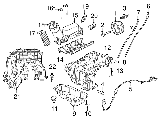 2010 Dodge Journey 2 4l Engine Parts Diagram on dc alternator