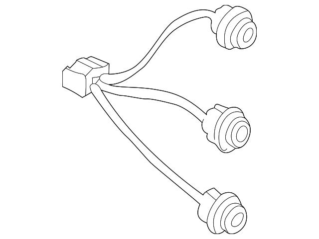 2000 2001 Nissan Xterra Socket Wire 26551 7z000