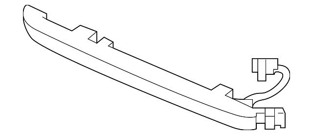 light assembly high mount stop honda 34270 tg7 a01. Black Bedroom Furniture Sets. Home Design Ideas