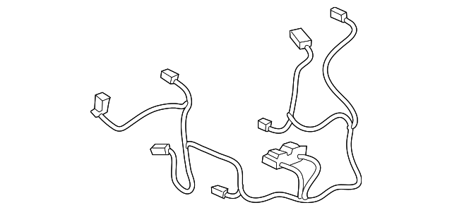 Gm S3 1 Wire Harness
