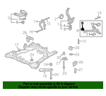 Bush Assembly, Front Compliance - Acura (51394-SEP-A01)