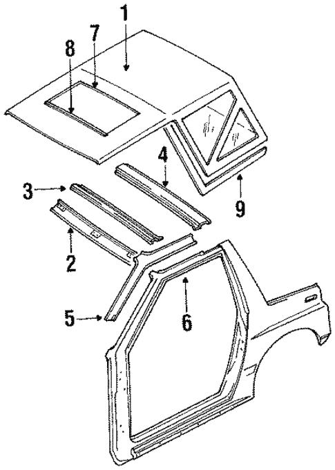 Folding Top For 1994 Suzuki Sidekick