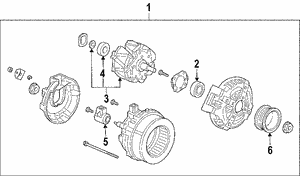 Alternator Assembly (CSC29) (Denso)