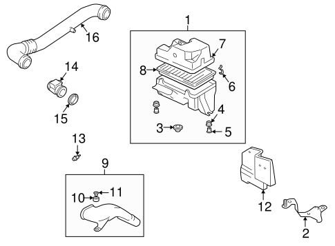 Genuine Oem Powertrain Control Parts For 2005 Mazda Miata Mazdaspeed