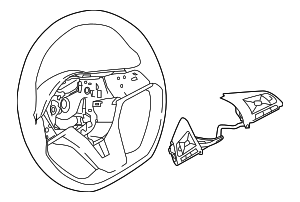 Steering Wheel - Nissan (48430-6MA3A)