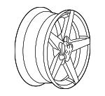 Wheel, Left Front, Right Front