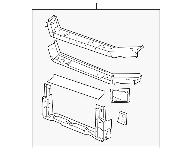 radiator support