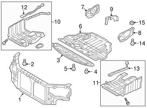Front Shield - Hyundai Sonata (29110-3Q000) | Gossett Parts