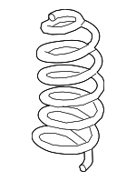 Coil Spring - Nissan (55019-6AM0A)