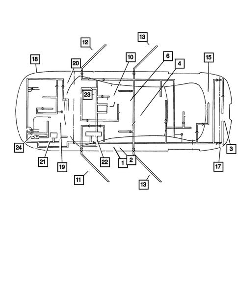 2004 chrysler concorde wiring diagram wiring body   accessories for 2004 chrysler concorde mopar one  accessories for 2004 chrysler concorde