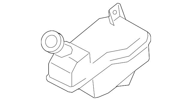 2007 2011 Nissan Versa Master Cylinder Reservoir 46091 Em30a