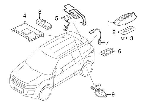 antenna radio for 2015 land rover range rover evoque 2014 Range Rover HSE antenna radio for 2015 land rover range rover evoque
