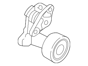 Belt Tensioner - Hyundai (25281-2E650)
