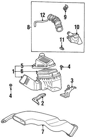 Air Cleaner Assembly Bracket