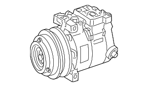 Compressor Assembly - Mercedes-Benz (002-230-24-11)