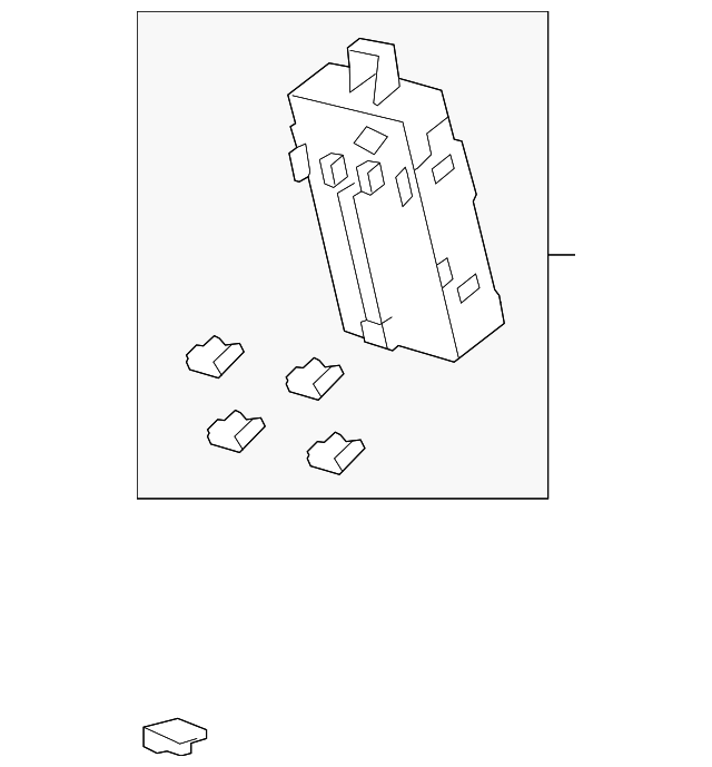 box assembly  driver fuse