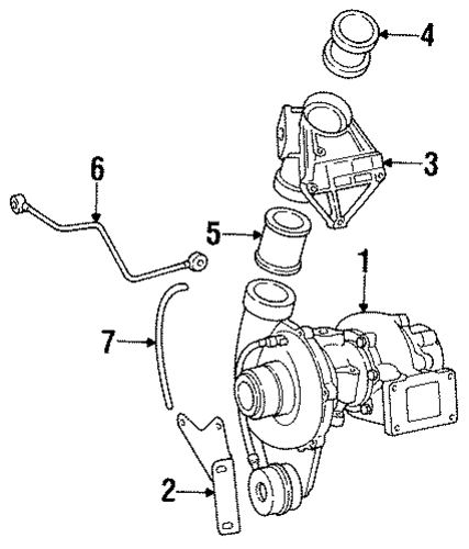 Turbocharger Support