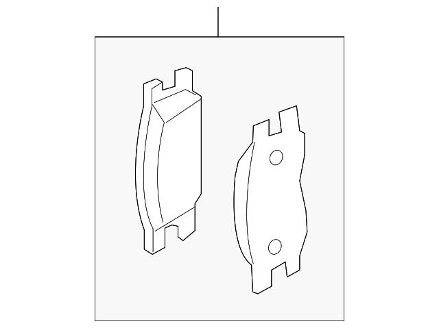 genuine nissan brake pads d1060