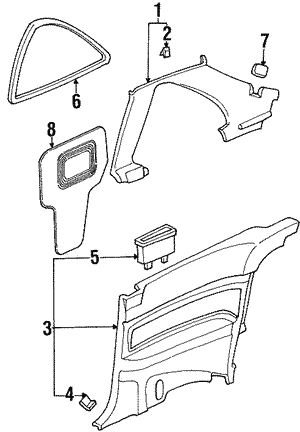 Tl Window Parts