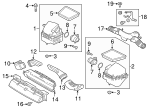 Air Cleaner Assembly - Land-Rover (LR092221)