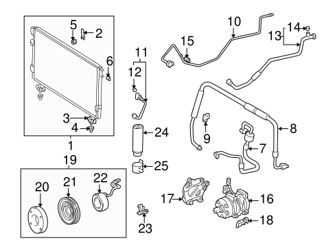 Toyota 88460-0C060 A//C Condenser