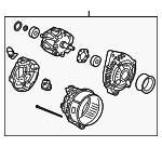Alternator, Core ID (104210-5920 9764219-592) (RMD) (Denso)