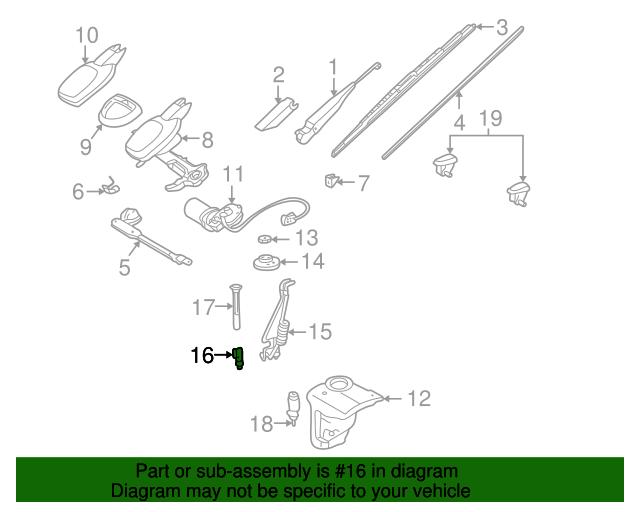 Valve - Mercedes-Benz (126-830-07-84)   MB OEM Parts