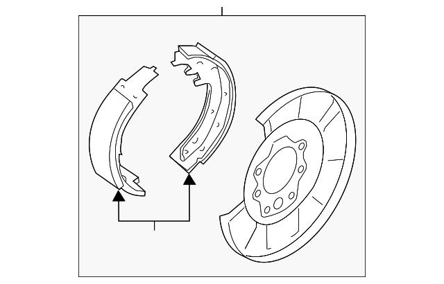 2008 2017 Nissan Brake Assembly 44000 Et01a
