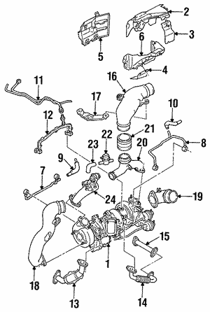 Turbocharger Insulator