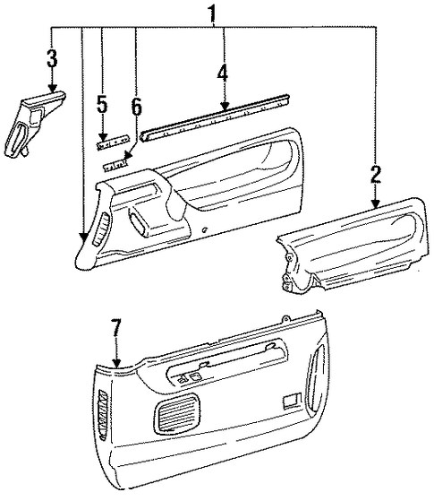 Belt Weather-Strip Bracket