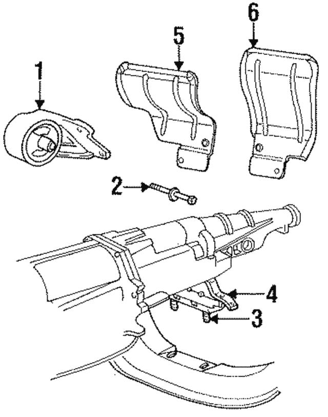 1994 2002 Dodge Heat Shield 52058238