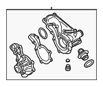 Thermostat Housing - Audi (06B-121-121-L)