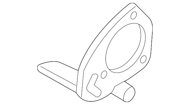 abs sensor wire bracket