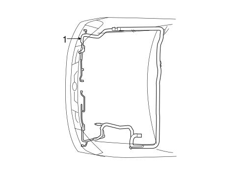 wiring harness for 2007 nissan xterra nissan parts. Black Bedroom Furniture Sets. Home Design Ideas