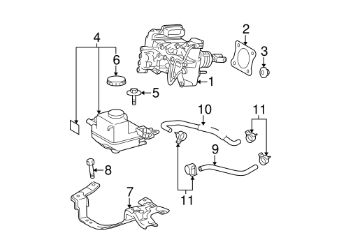 Hydraulic System for 2012 Toyota Prius Plug-In #0