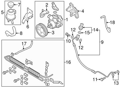 Grubbs Infiniti Parts G35 Coupe Front Suspension Diagram