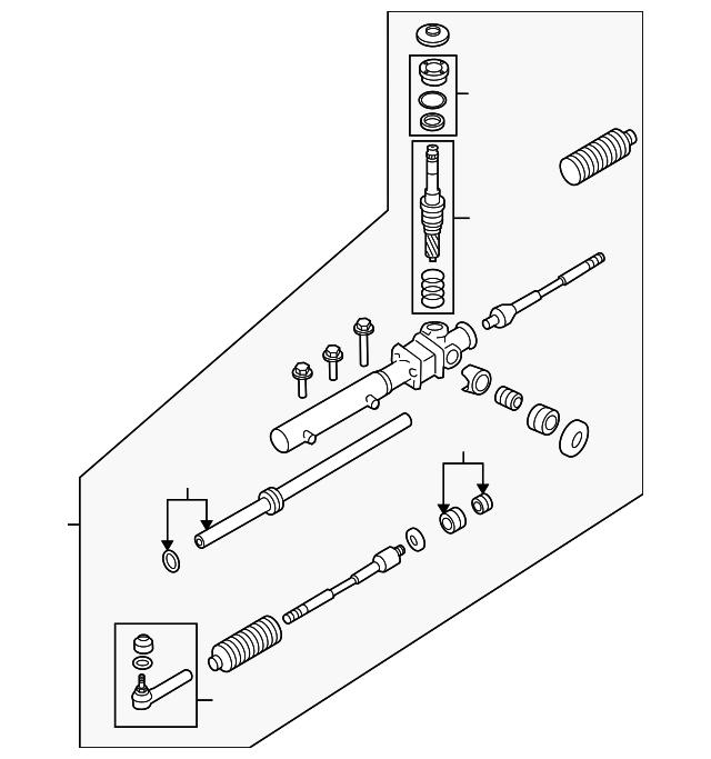 2014 Scion Iq Transmission: Gear Assembly - Subaru (34110AJ046)