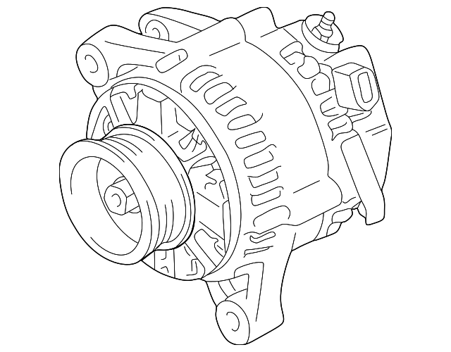 2004 2008 Toyota Alternator 27060 0a120 84