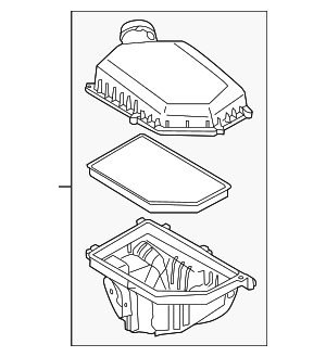 Air Cleaner Assembly - Volvo (31474784)