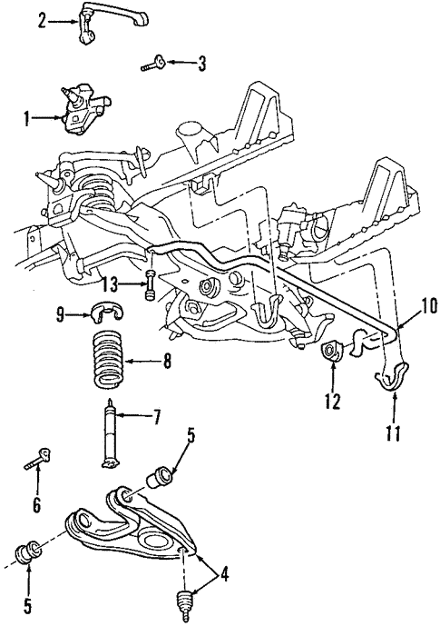 33 2000 ford f150 suspension diagram