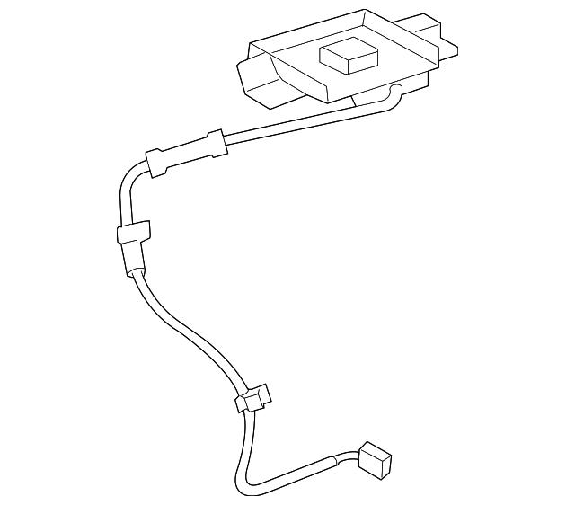 2014 Toyota Venza Transmission: Antenna - Toyota (86860-0T010)