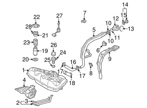 oem 2004 pontiac vibe emission components parts gmpartsonline net