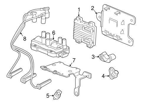 oem 2011 gmc savana 1500 ignition system parts