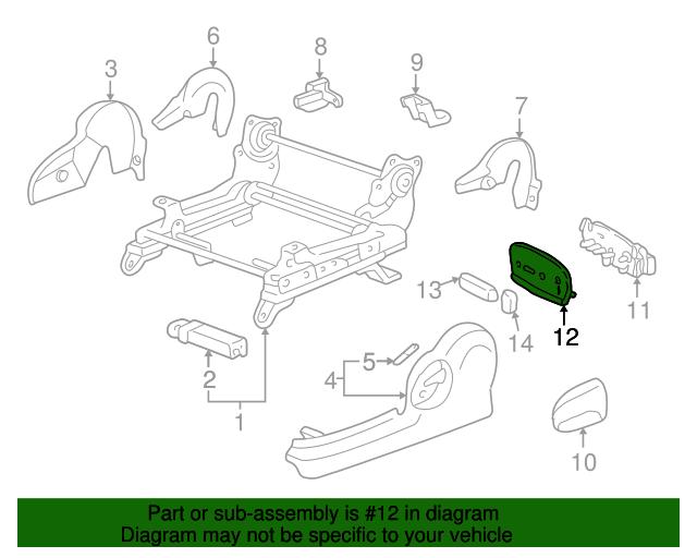 TOYOTA Genuine 72995-0C010-E1 Seat Cushion Cover
