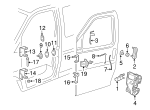 Door Hinge - GM (15993231)