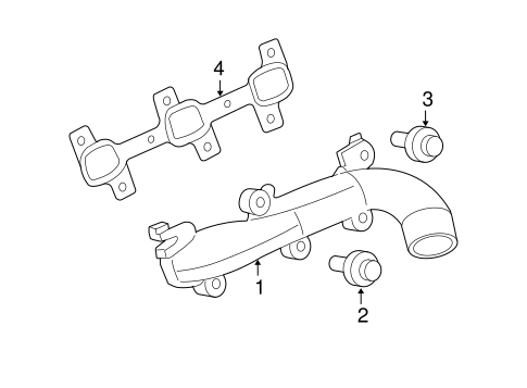 Exhaust Manifold For 2007 Jeep Commander