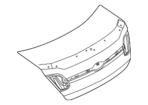 Trunk Lid - Ford (AG1Z-5440110-A)