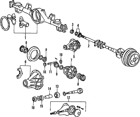 Toyota 04437-14041 CV Joint Boot Kit