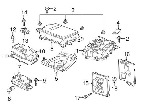 Electrical Components for 2016 Chevrolet Volt #0