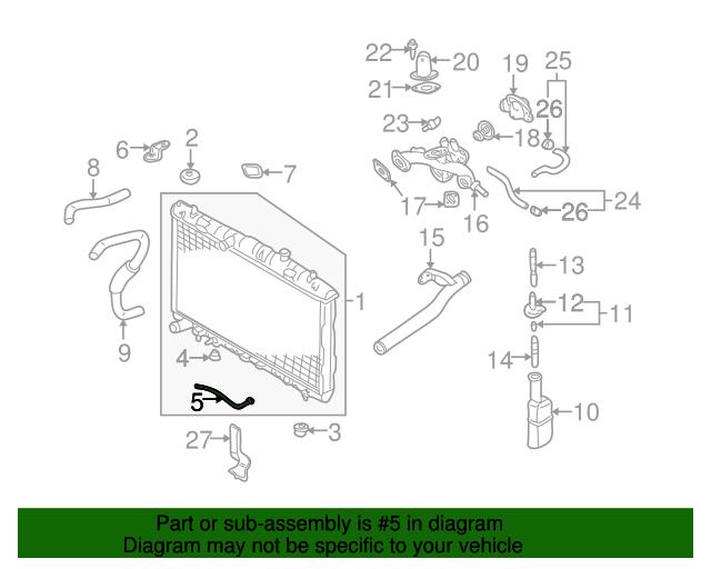 diagram fender list for panel apron support hyundai parts elantra radiator